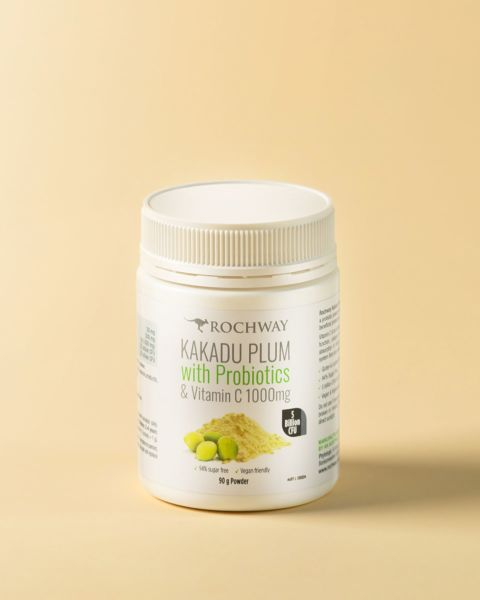 Kakadu Plum with Probiotics and Vitamin C Powder