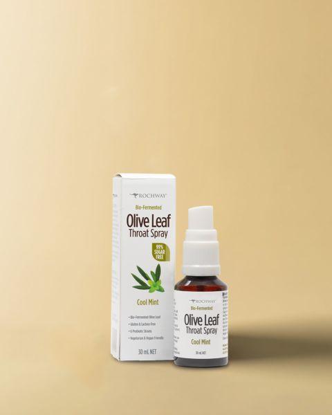 Bio-Fermented Olive Leaf Throat Spray 30 mL